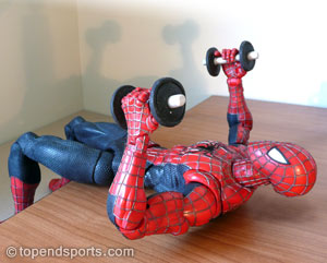 dumbbell bench press exercise