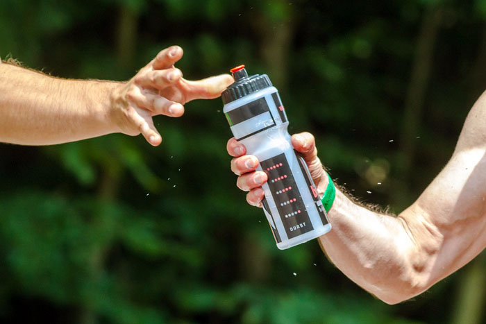 keep hydrated during exercise