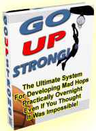 Go Up Strong Basketball Vertical Jump