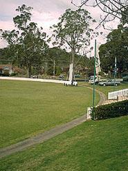 Bradman Oval in Bowral