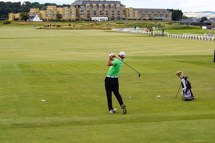 playing at St Andrews