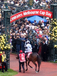 Emirates Mebourne Cup Day