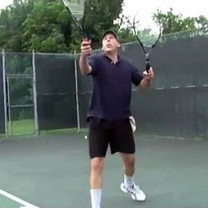 Two handed tennis