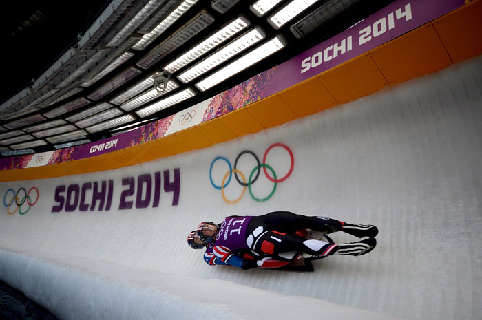double luge at the Sochi Olympics