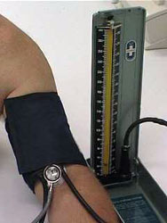 blood pressure measurement: sphygmomanometer