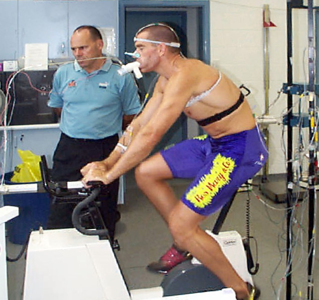 Vo2max fitness test